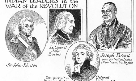 Indian Leaders in the War of the Revolution