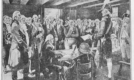 Lieutenant-governor Simcoe Opening the First Legislative Assembly of Upper Canada, 1792