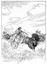 Metis Hunting The Buffalo