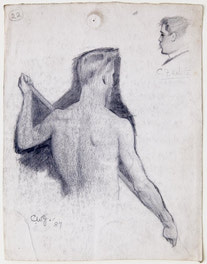 Male Model and C.F. White