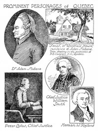 Prominent Personages of Quebec