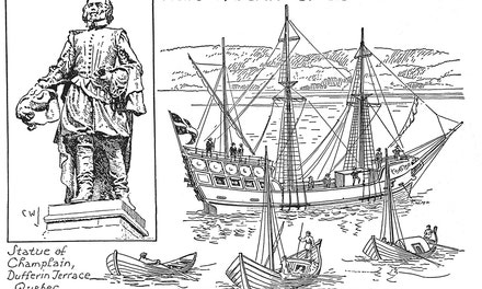 Ships and Boats of Champlain's Time