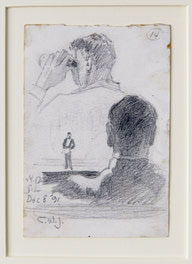 Studies of a Man in an Audience