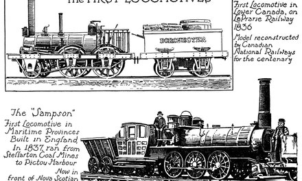 The First Locomotives