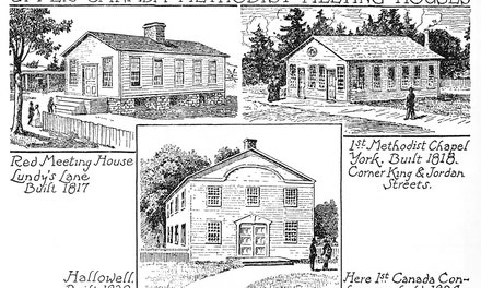 Upper Canada Methodist Meeting Houses