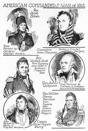American Commanders: War Of 1812