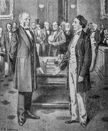 George Brown and John A. MacDonald Meet to Inaugurate Confederation