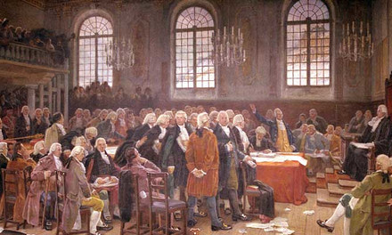 Meeting of the First Legislative Assembly of Lower Canada, 1792