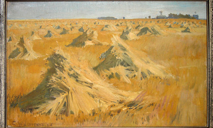 Stooks of Grain