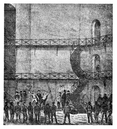 Whipping Prisoner at Toronto Gaol